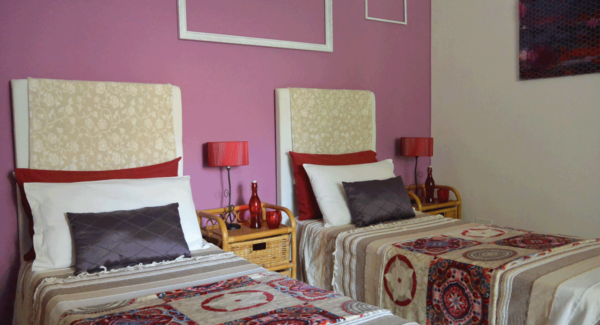 bed and breakfast Cagliari camera doppia